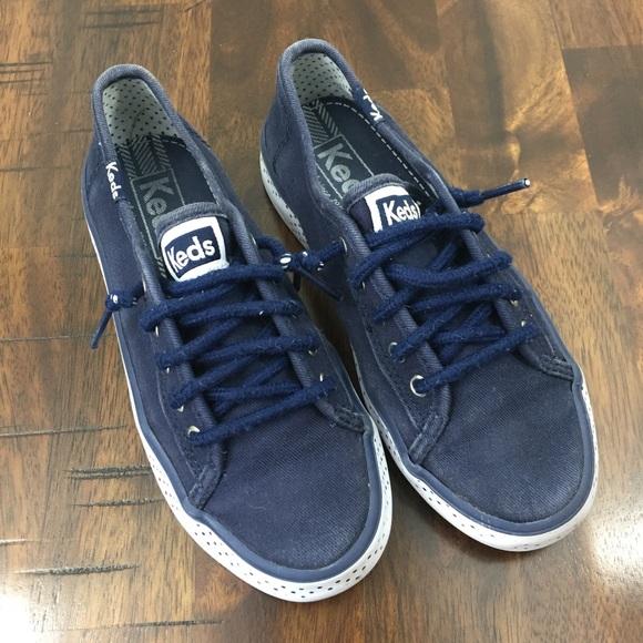 Keds Shoes | Girls Double Up Navy 13